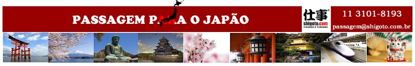 Passagem promocional para o Japão - Tel 11 3101-8193