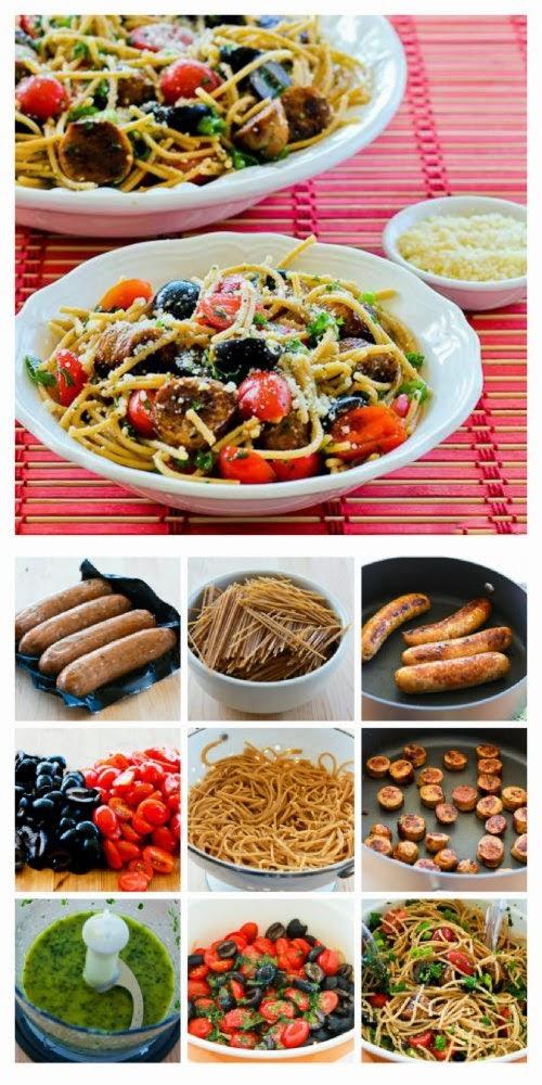 http://www.kalynskitchen.com/2013/05/whole-wheat-spaghetti-salad-italian-sausage.html