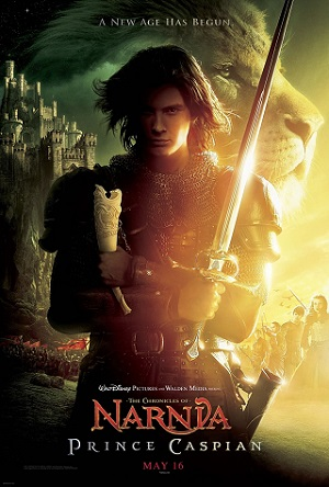 THE CHRONICLES OF NARNIA PRINCE CASPIAN Poster  The Chronicles of Narnia Prince Caspian (2008) 720p BRRip 1GB