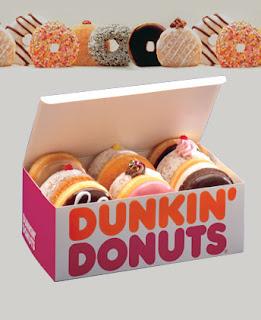 produk dunkin donuts