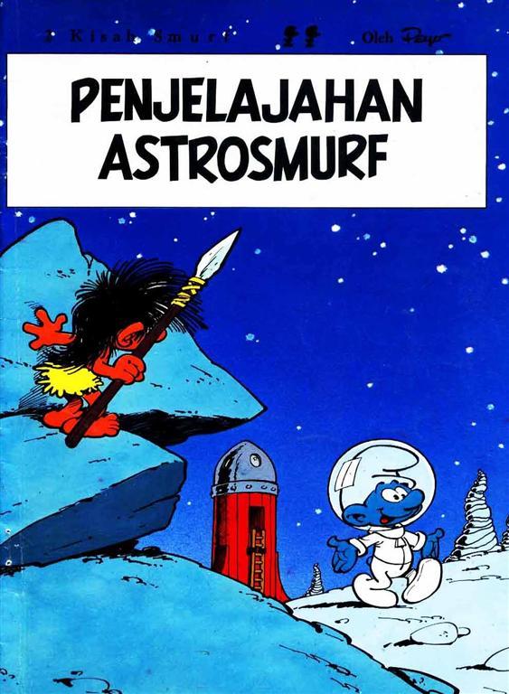Smurf – Penjelajahan Astrosmurf