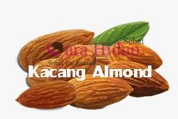 gambar manfaat kacang almond