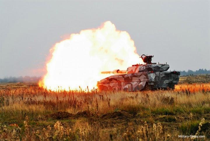 Tank CV90120 canon 120mm