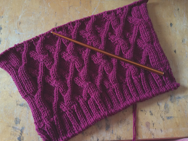 Knitting Gauge Too Many Stitches Per Inch : Vicki Brown Designs: August 2015