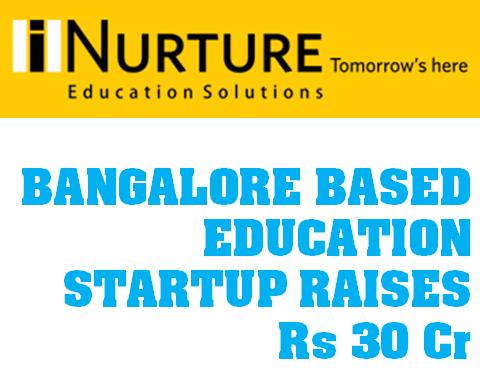 iNurture Education Startup raises Rs. 30 Crores funding
