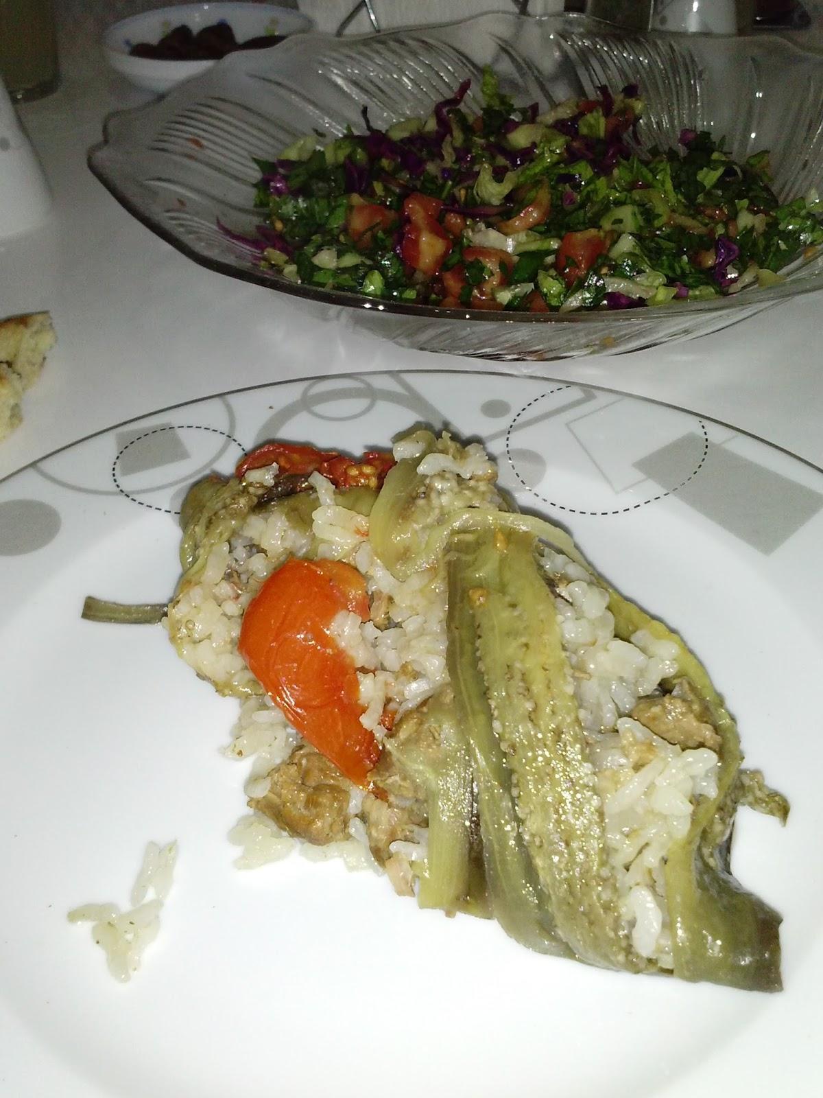 Рецепт турецкого блюда маклюбе