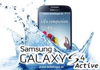 Samsung Galaxy S4 Active -Water resistant Samsung SmartPhone