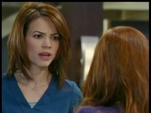 Rebecca Herbst general hospital new haircut