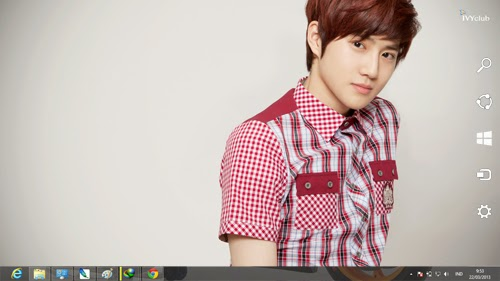 EXO K-POP 2014 Theme For Windows 7 And 8 8.1