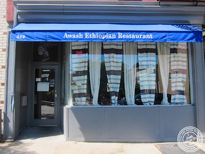 image of Awash Ethiopian restaurant in Brooklyn, New York