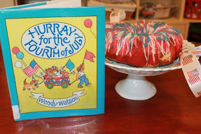 Activity Idea for HURRAY FOR THE FOURTH OF JULY by Wendy Watson via www.happybirthdayauthor.com