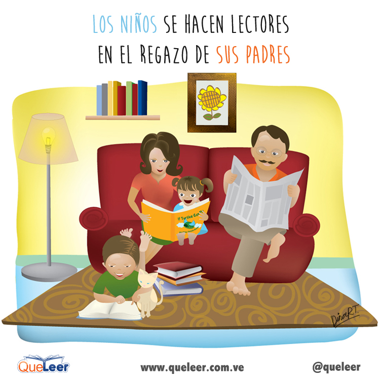 LA LECTURA SE VIVE EN CASA