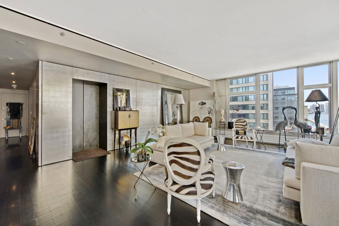 Loveisspeed the apartment is located in tribeca a for Modern house new york