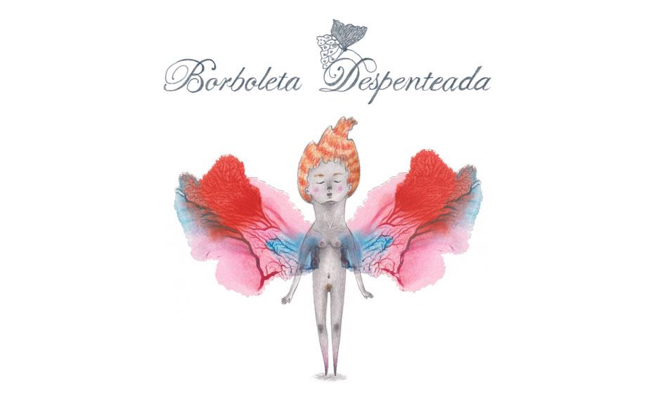 Borboleta Despenteada