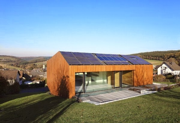 Martie 2014 goodiy - Eco friendly large glass windows offering effective energy savings for contemporary residence ...