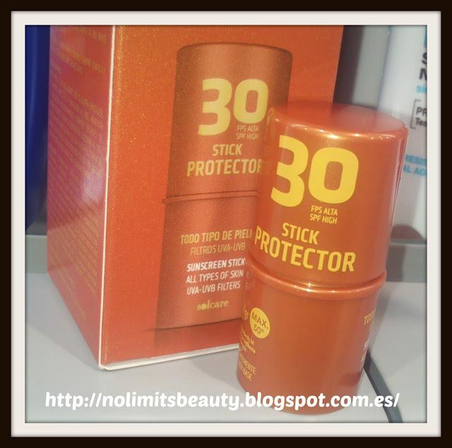 Stick protector con SPF 30 de Solcare