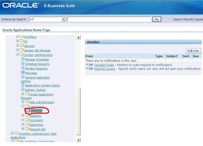 download template oracle reports