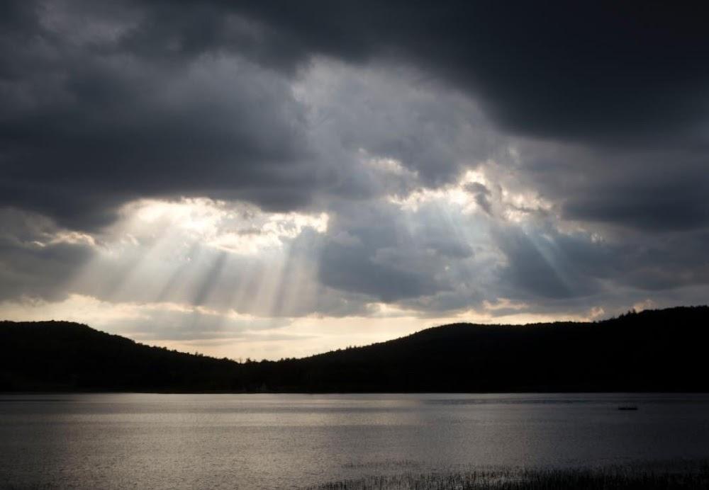 lac mahon, la peche, qc.