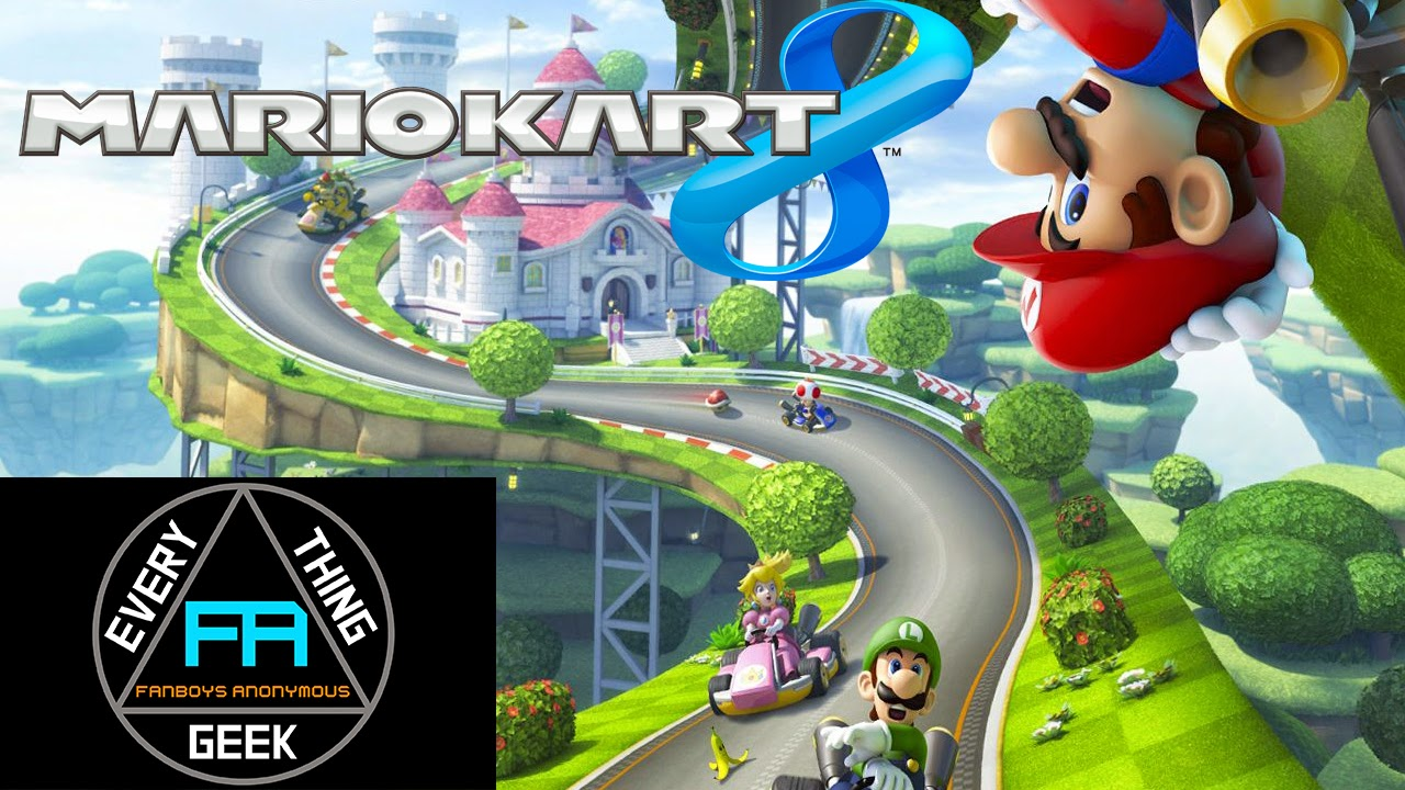 DLC Pack 1 and free wallpaper for Nintendo Mario Kart 8
