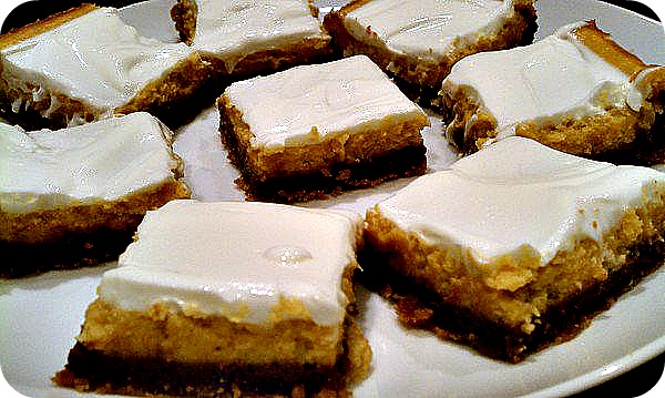 ... Measures: Tried & True Tuesday: Pumpkin-Chocolate Cheesecake Bars