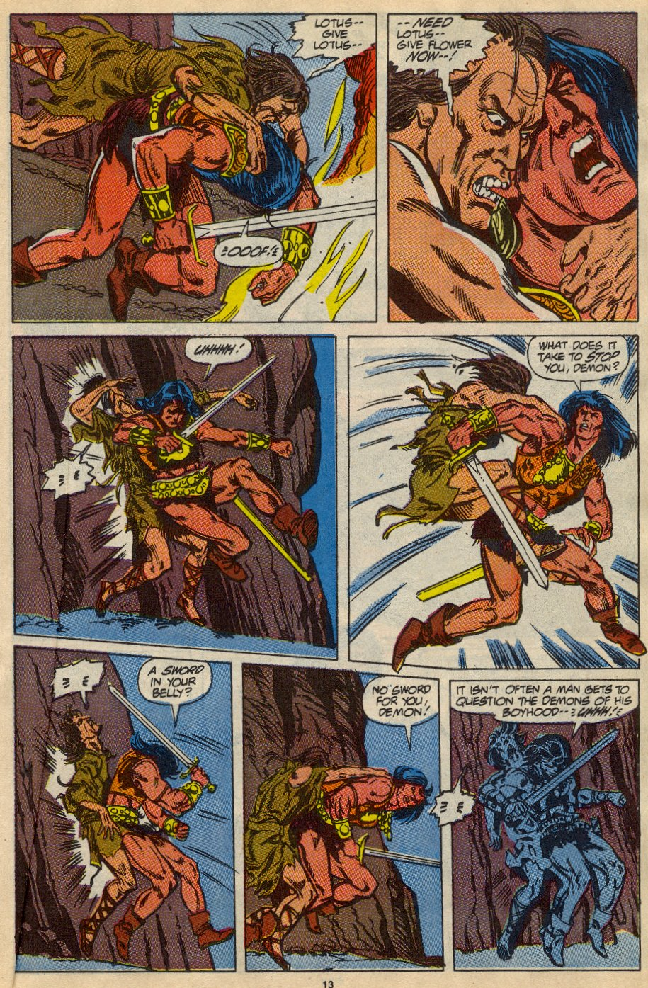 Conan the Barbarian (1970) Issue #230 #242 - English 10