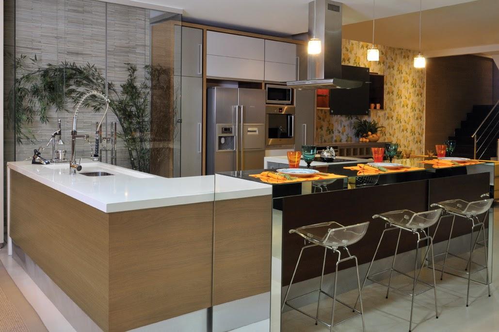 construindo minha casa clean top 10 cozinhas modernas decoradas. Black Bedroom Furniture Sets. Home Design Ideas