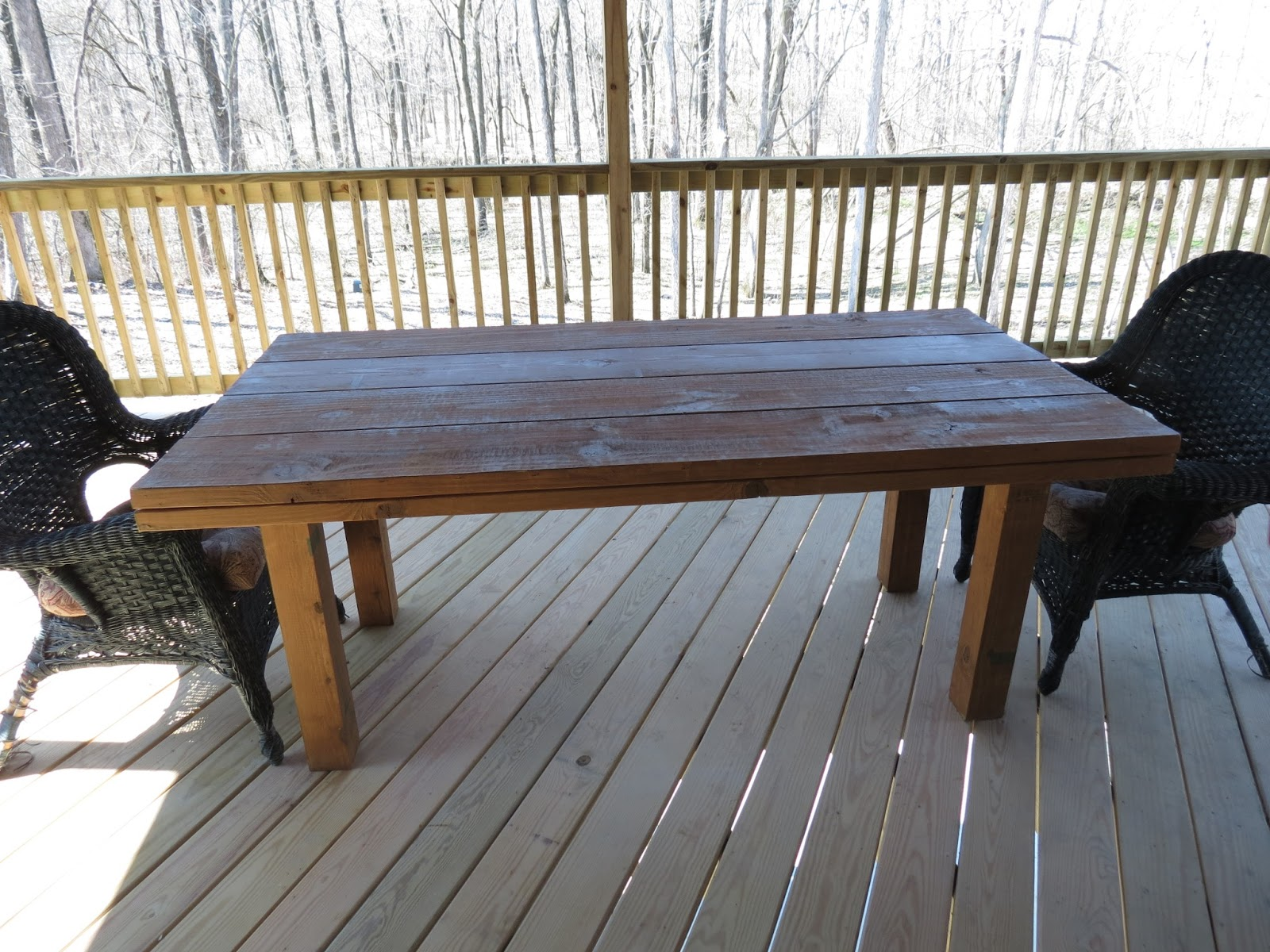 Simple DIY Patio Table Reveal