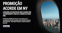 Promoção Acorde em NY Delta One www.acordeemny.com.br