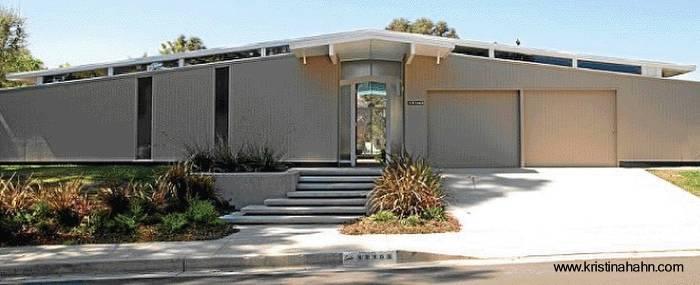 Arquitectura de casas extensa casa residencial moderna for Casa moderna americana