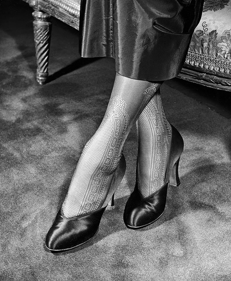 Vintage Stocking Photos 79