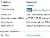 Massima RAM utilizzabile