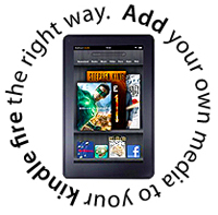 gettting files onto your kindle
