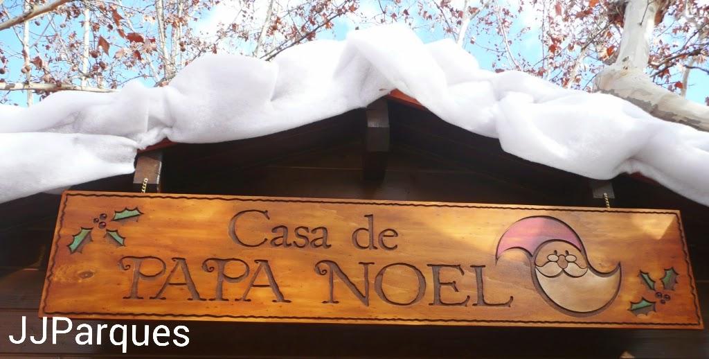 Jjparques navidades divertidas en el parque de atracciones de madrid - Casa papa noel madrid ...