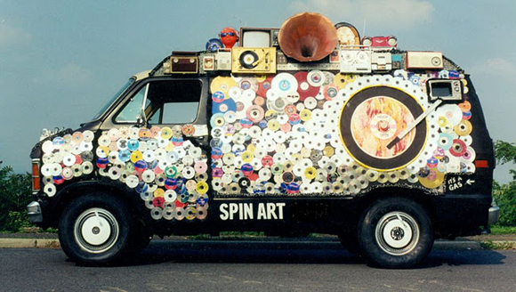 Hoop Spin Art Van