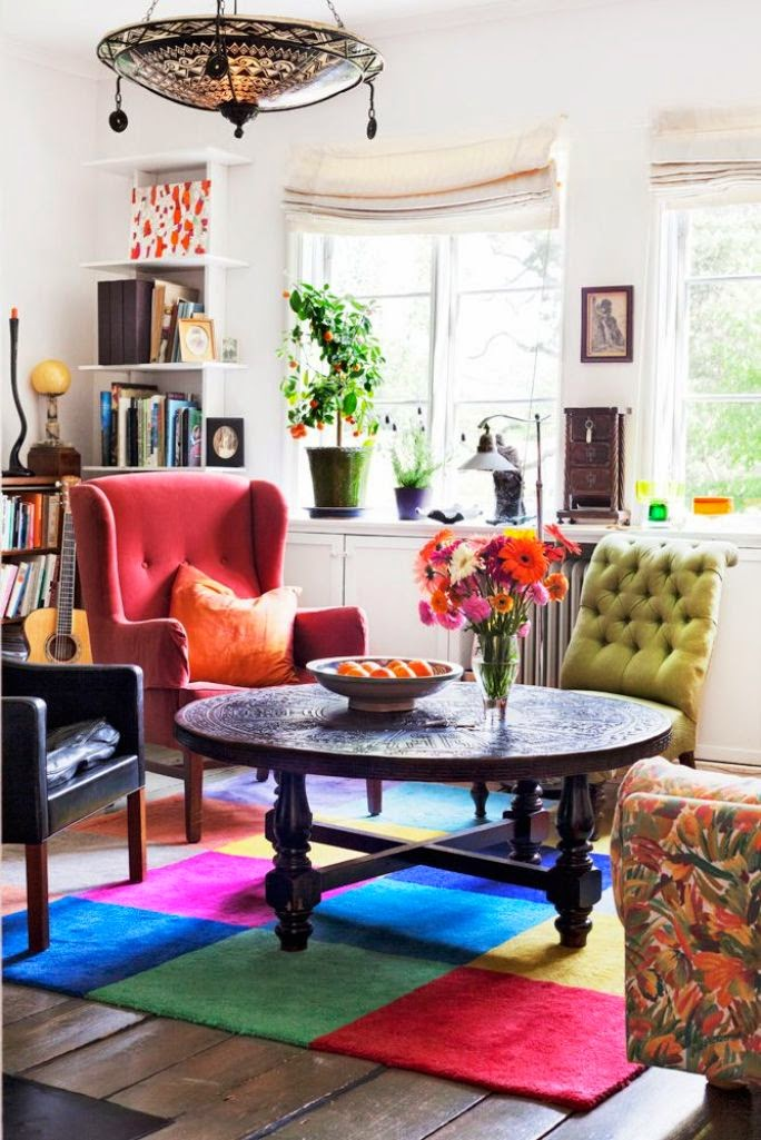 20 Inspiring Bohemian Living Room Designs Do It Yourself Ideas And Projects