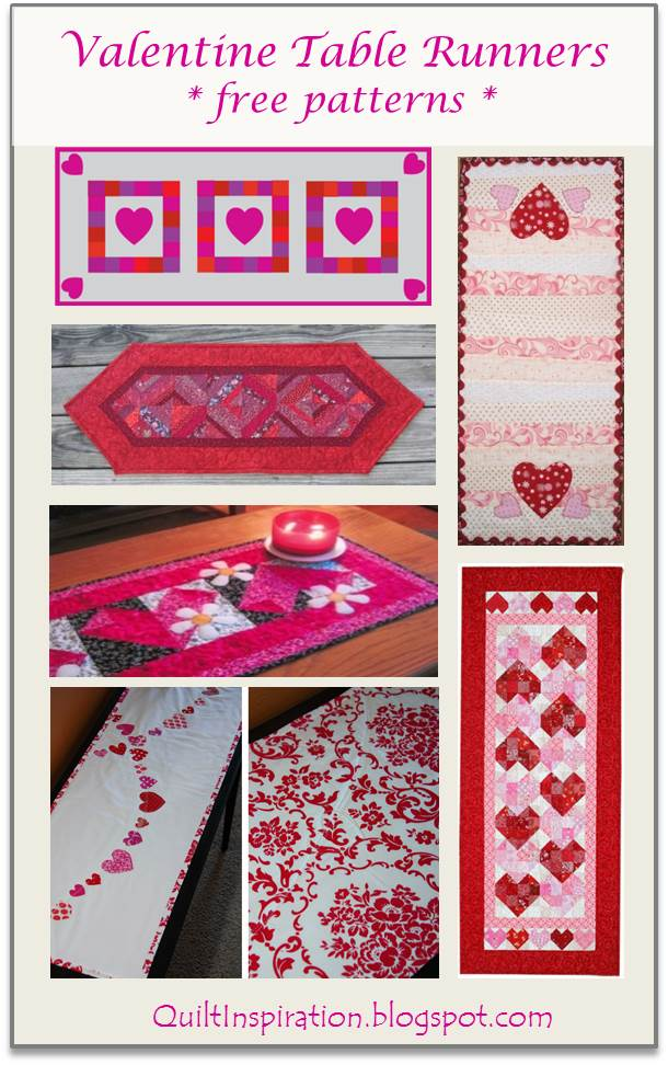 Quilt Inspiration: Free patterns for Valentine s Day!