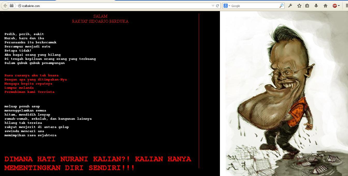website icalbakrie dihack
