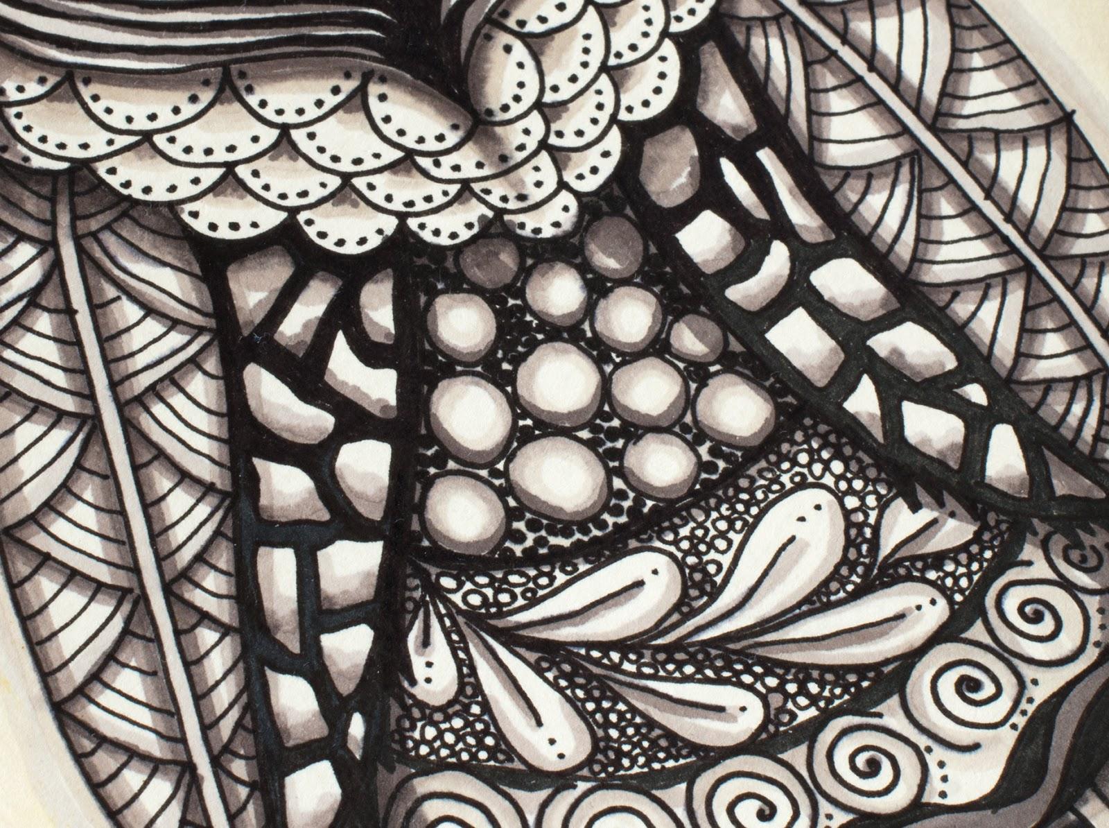 Zentangle textures
