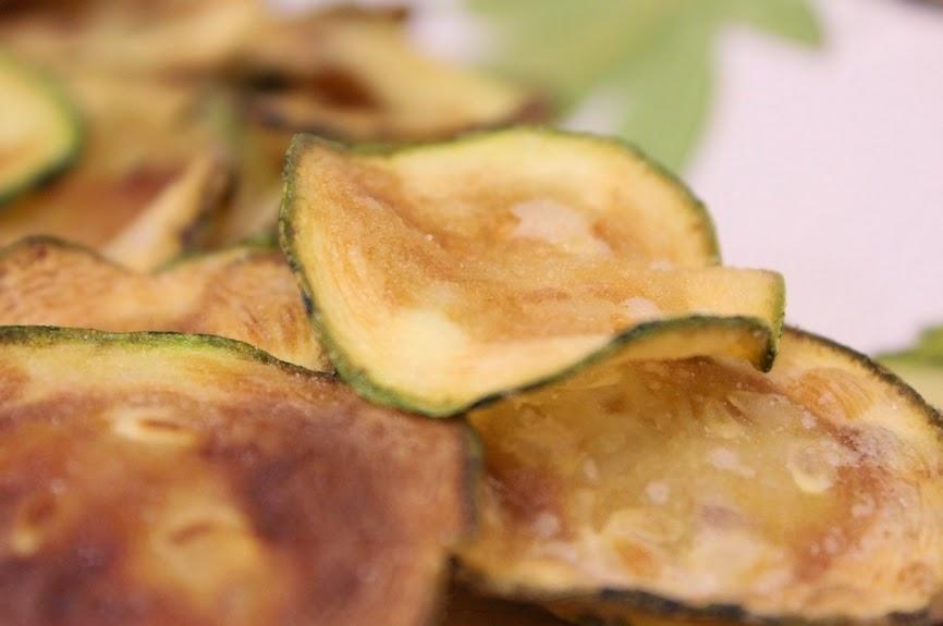Chips de Abobrinha (vegana)