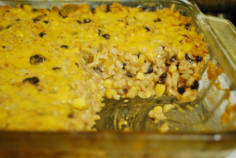 Simply Mangerchine: Black Beans, Corn, and Rice Casserole