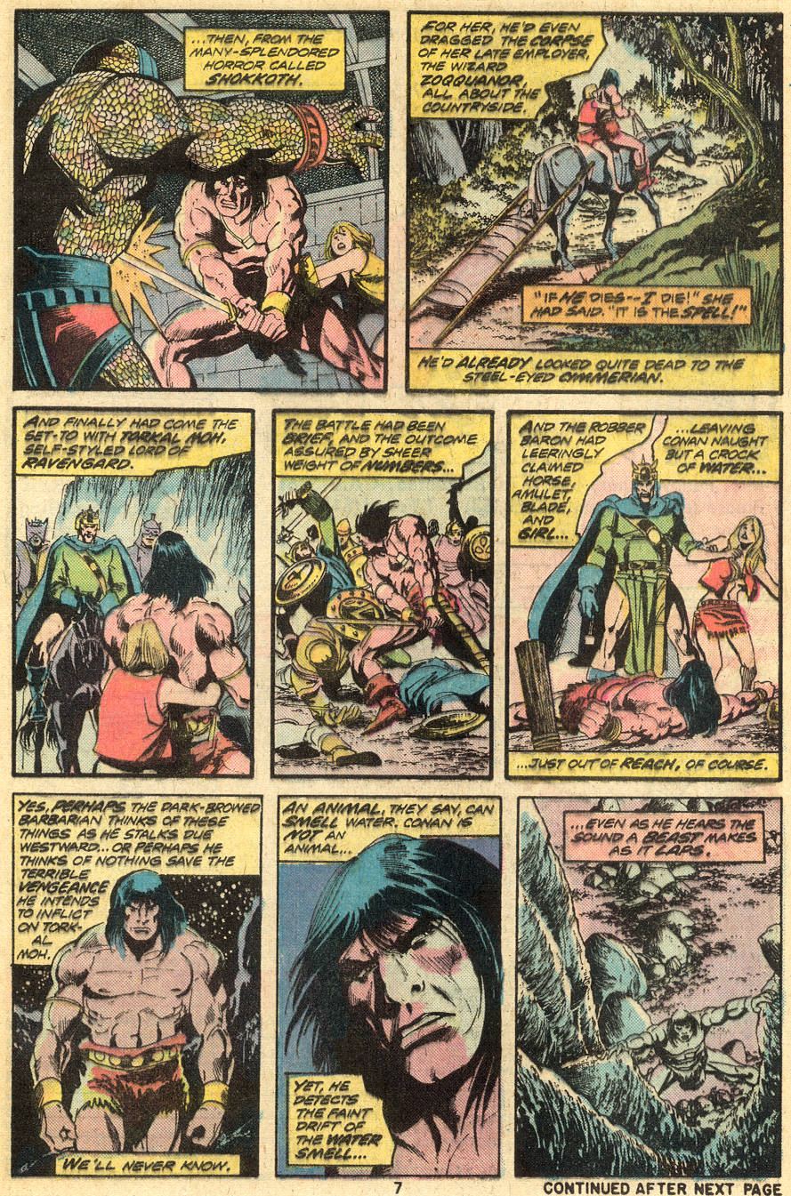Conan the Barbarian (1970) Issue #49 #61 - English 6
