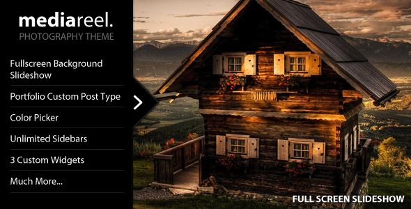 MediaReel - Portfolio, Photography Wordpress Theme Free Download by ThemeForest.