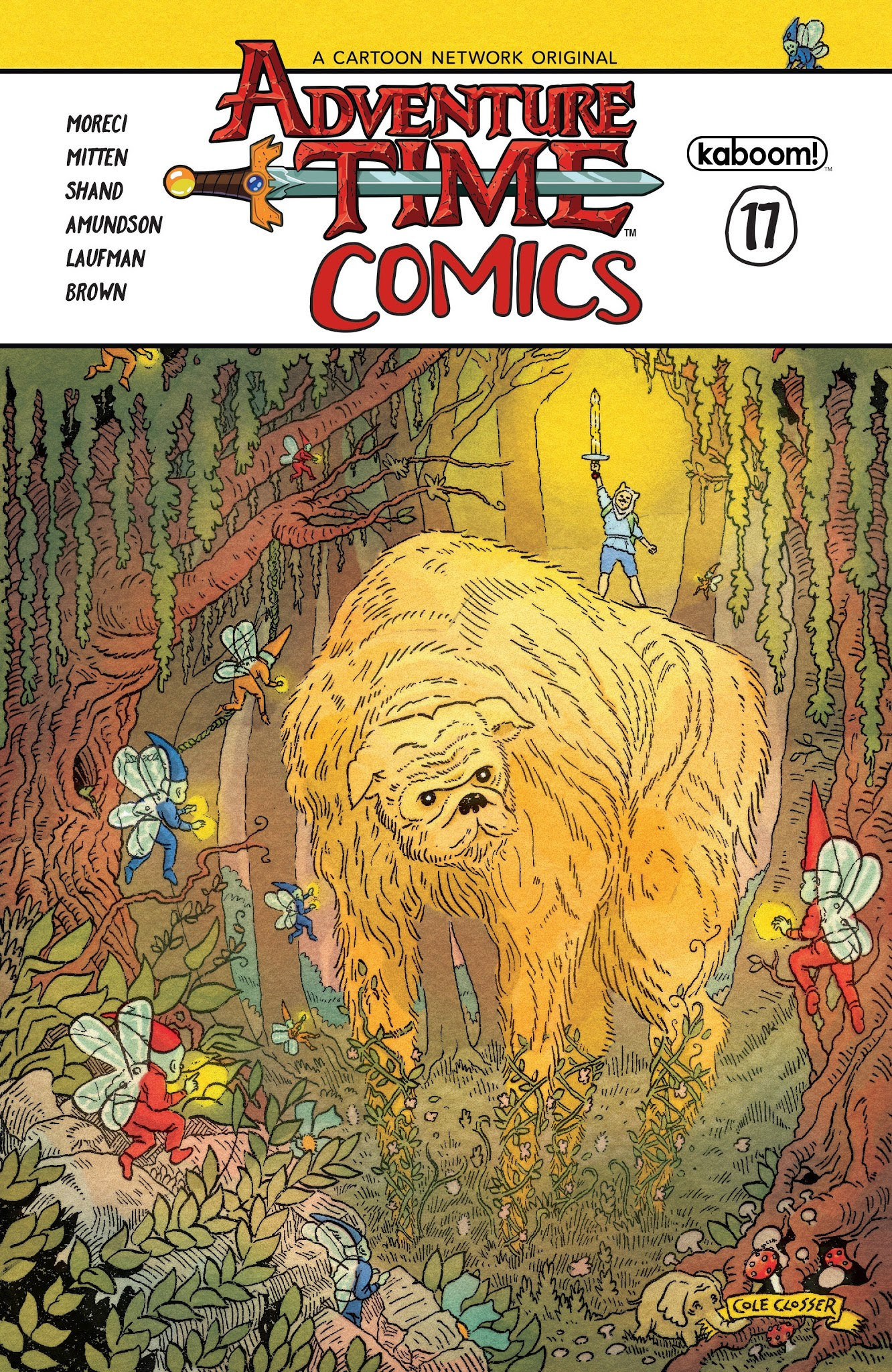Adventure Time Comics 17 Page 1
