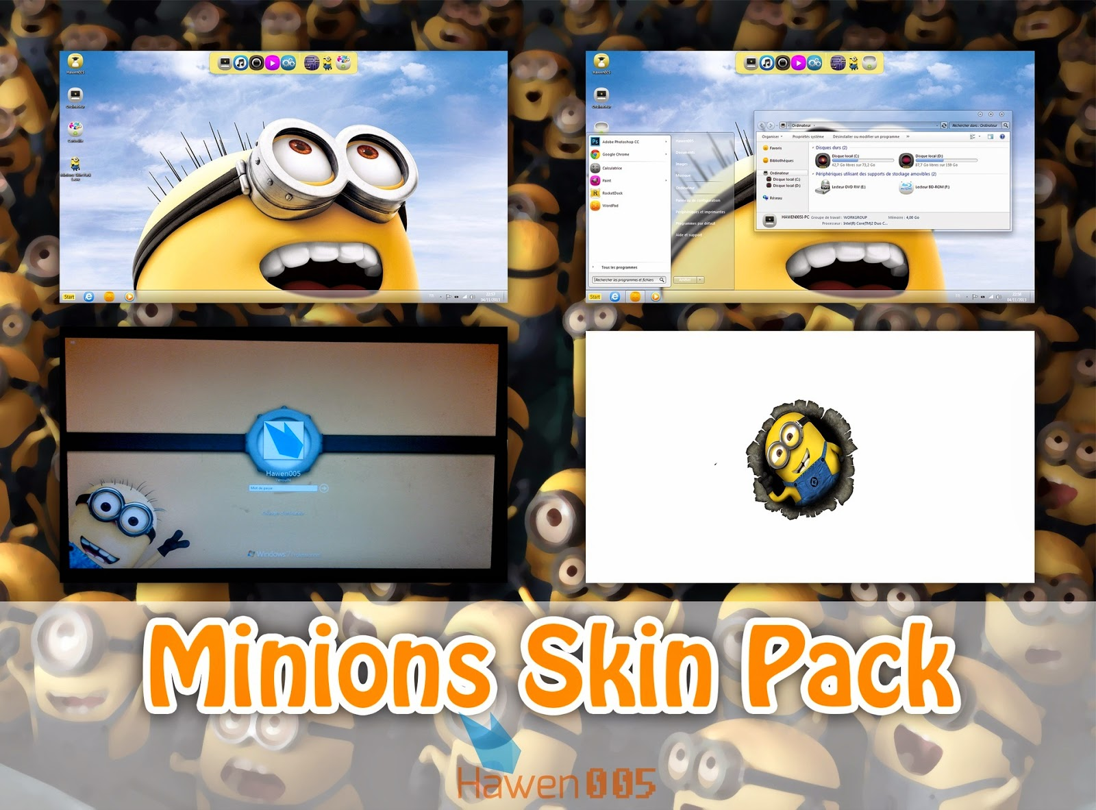 Theme Minion Icons For Desktop Www Picsbud Com