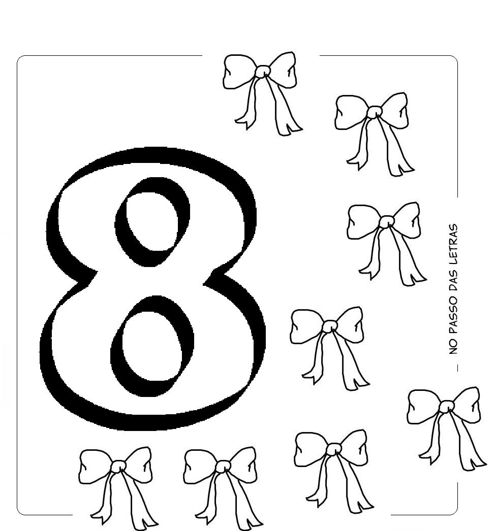 Perfecto Número 8 Para Colorear Friso - Ideas Para Colorear ...