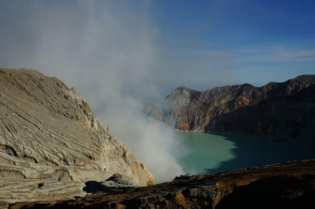 lac acide du Kawah Ijen