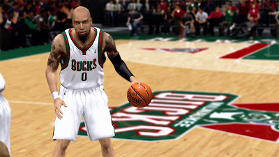 NBA 2K13 Drew Gooden Face & Long Beard Update Patch