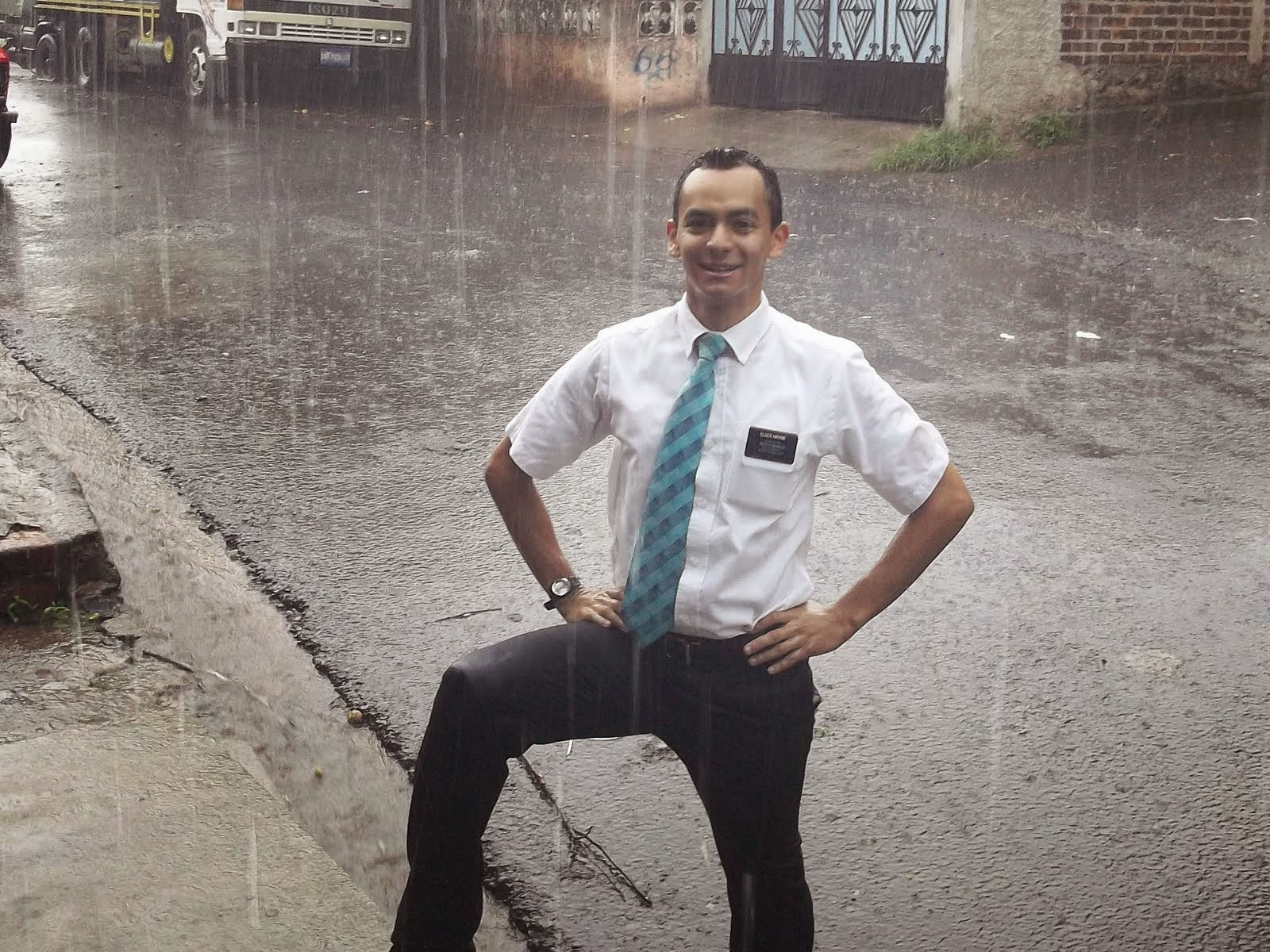 Cute Elder Haynie five months of rain