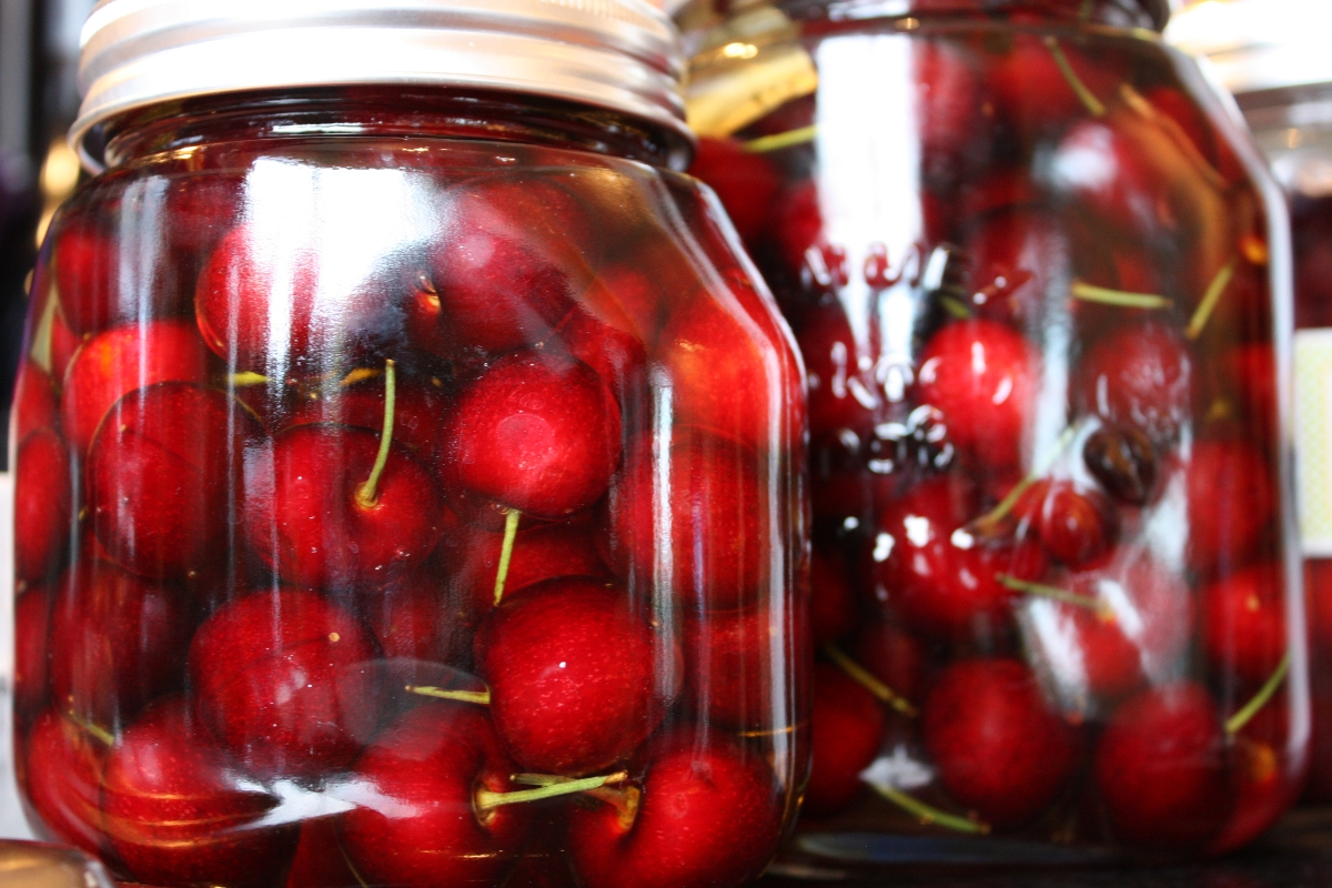 Pickled Sour Cherries Recipes — Dishmaps