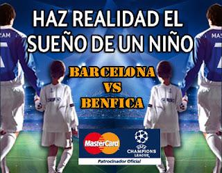 Salir al Camp Nou junto a los jugadores del Barca